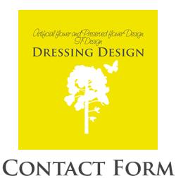 Dressing Design コンタクトフォーム